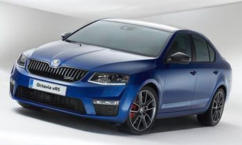 Octavia vRS received five-star rating
