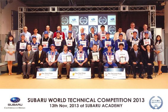 UK Subaru Master Technician for the third year