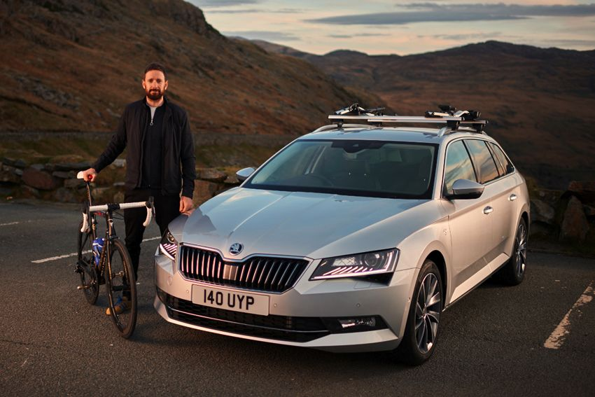 ŠKODA UK announces strategic partnership with Sir Bradley Wiggins