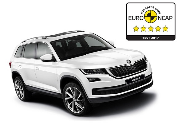 ŠKODA KODIAQ receives 5-Star Euro NCAP