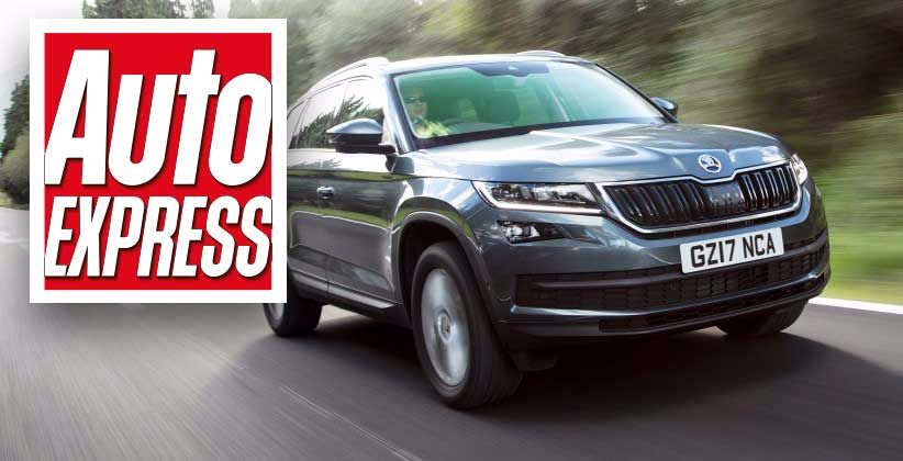 Three cheers for ŠKODA as Kodiaq, Superb and Octavia take home Auto Express New Car Awards titles