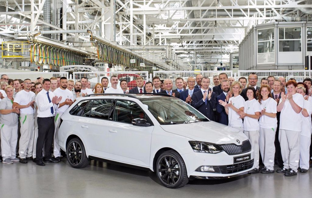 ŠKODA celebrates four million FABIAs