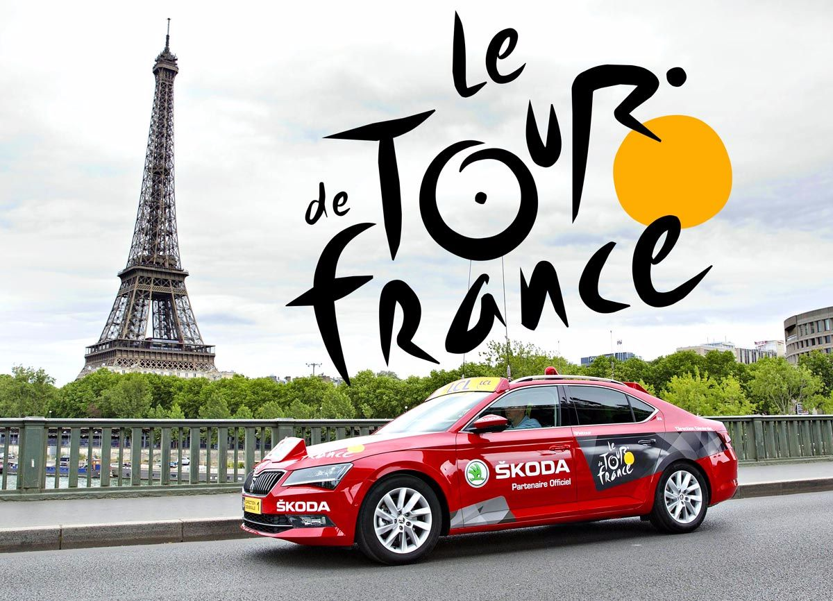 ŠKODA thirteenth time sponsor of Tour de France