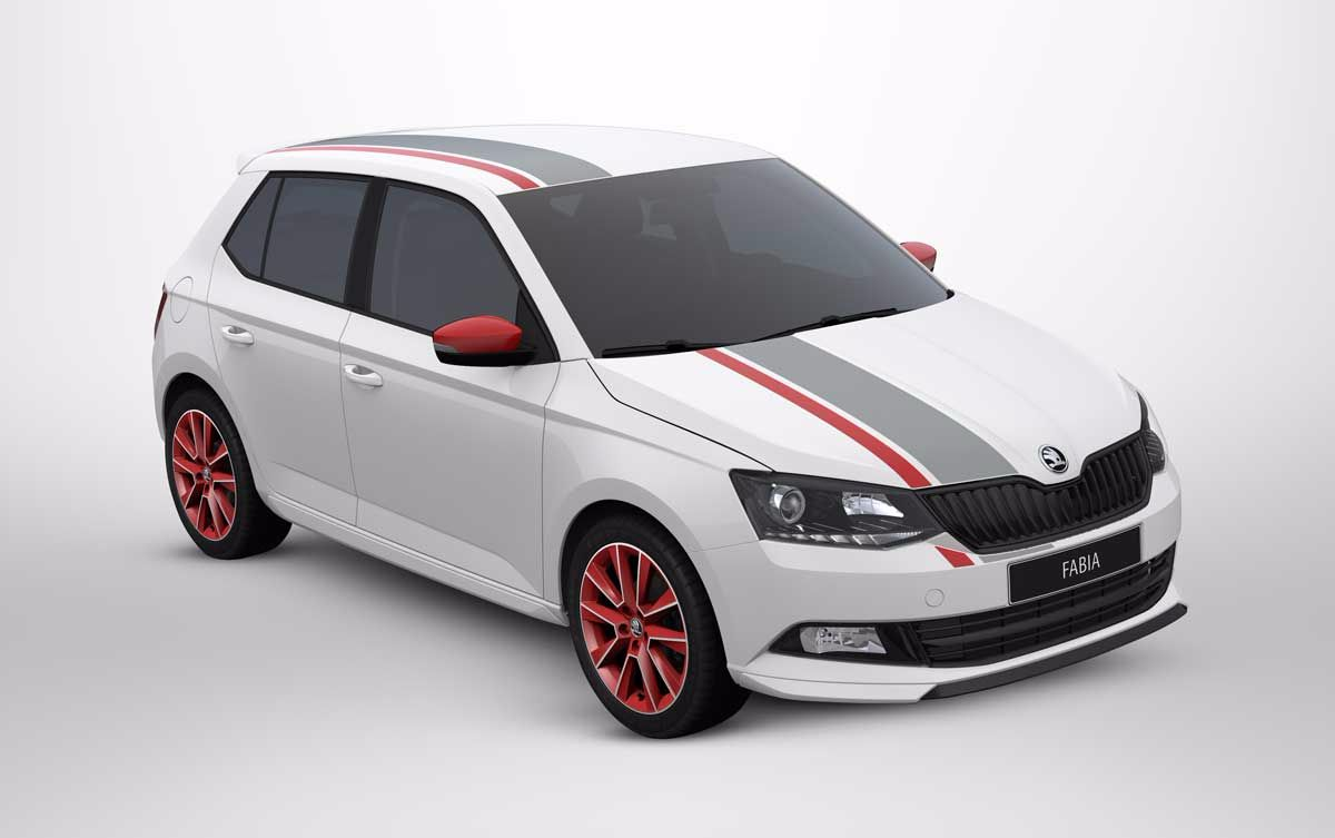 THE ŠKODA FABIA REDLINE