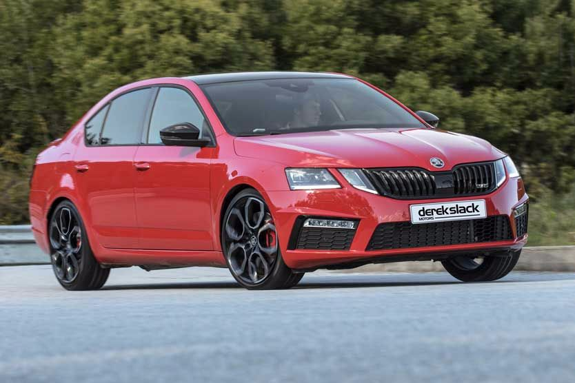 Octavia vRS 245 tops the hot hatches