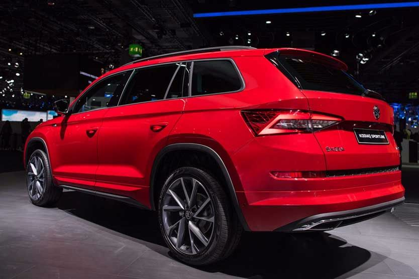 Meet The Škoda Kodiaq Sportline