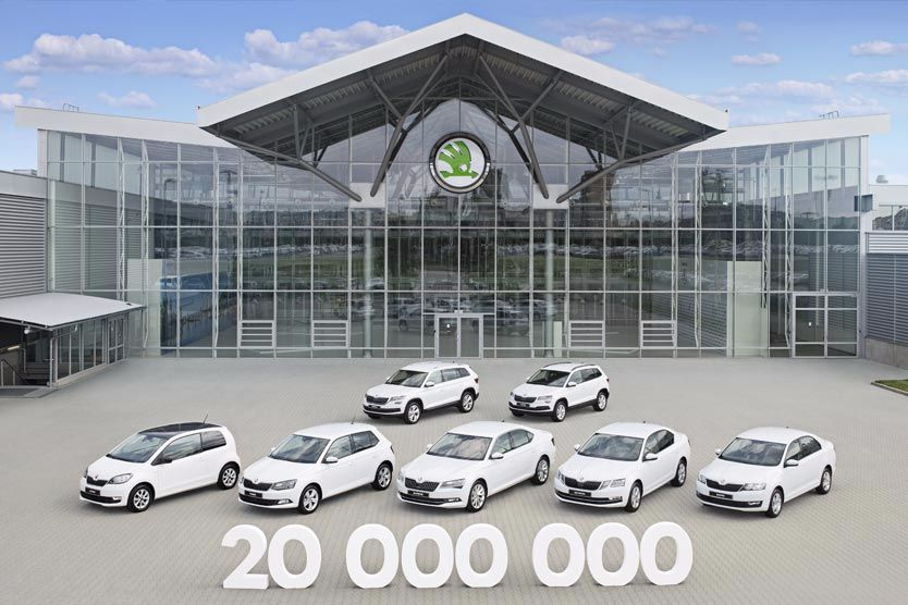 ŠKODA reaches 20-million milestone