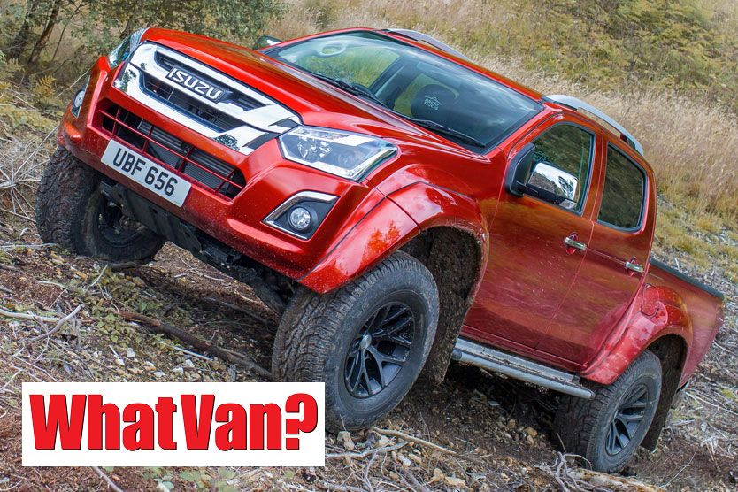 What Van? Awards 2018: Pick-Up of the Year - Isuzu D-Max