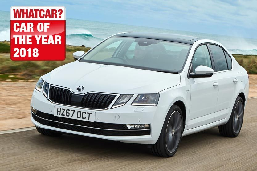 Double delight for ŠKODA as Octavia and Superb take top honours at the 2018 What Car? Awards