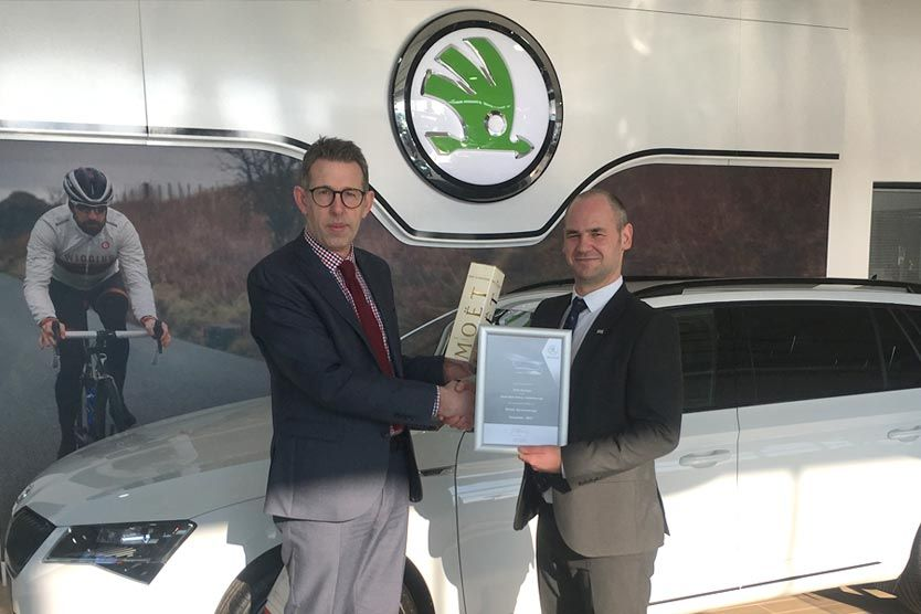 Chris Harrison Attains Skoda Service Manager Accreditation