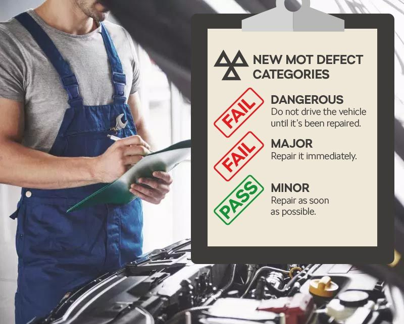 MoT Test Changes 2018