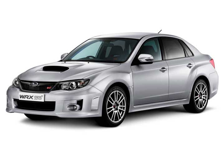 The new 2011 STI WRX is back in Middlesbrough