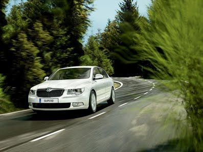 Skoda Superb Wins Best Family Car of the year award 2010