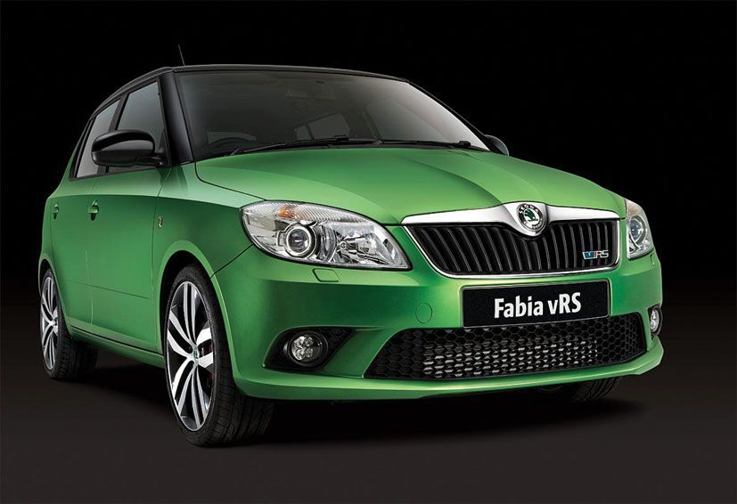 Skoda Fabia vRS North East