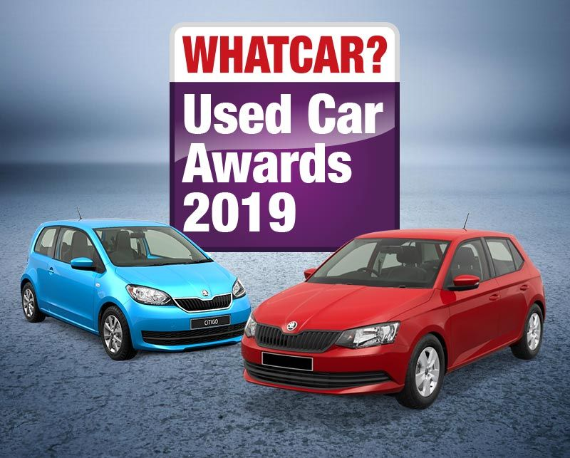 Small wonders: Citigo and Fabia take the spoils at the What Car? Used Car Awards 2019