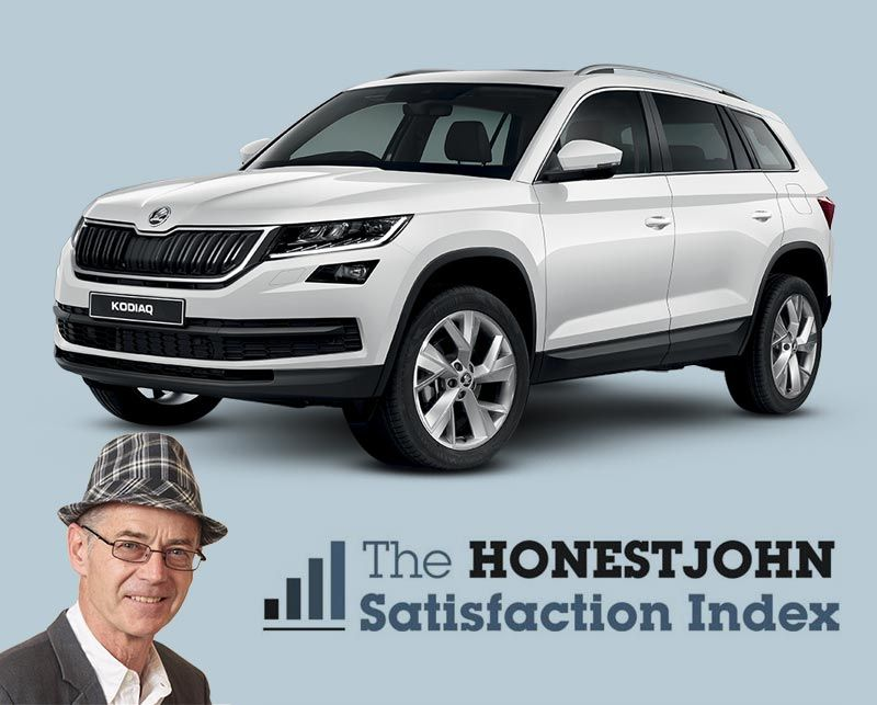 Satisfaction guaranteed: ŠKODA Kodiaq and Superb top the tables in the 2018 Honest John Satisfaction Index