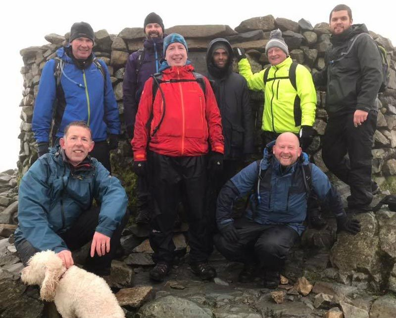 Remembrance Sunday Lake District Climb