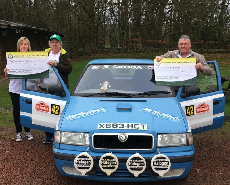 Historic Rally Driver Raises Money for the Great North Air Ambulance