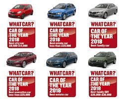 ŠKODA Continues it's Winning Streak at the What Car? Awards