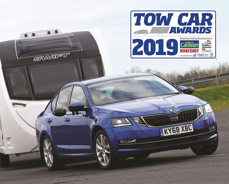 Record Sixth Tow Car Award for Octavia