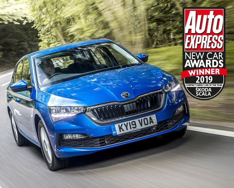 ŠKODA scoops a hat-trick of Auto Express Awards