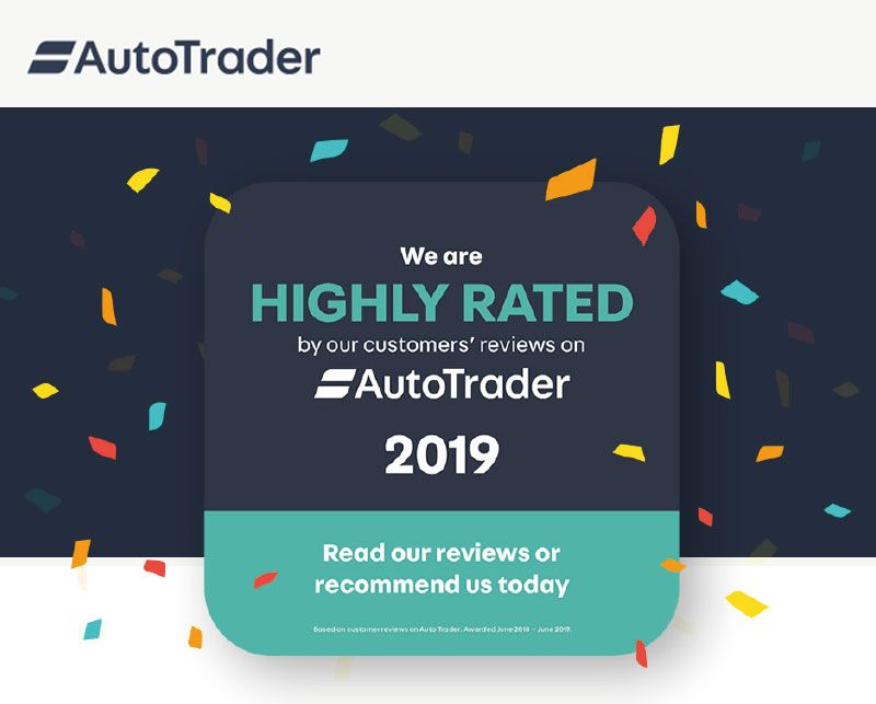 Highly Rated by AutoTrader