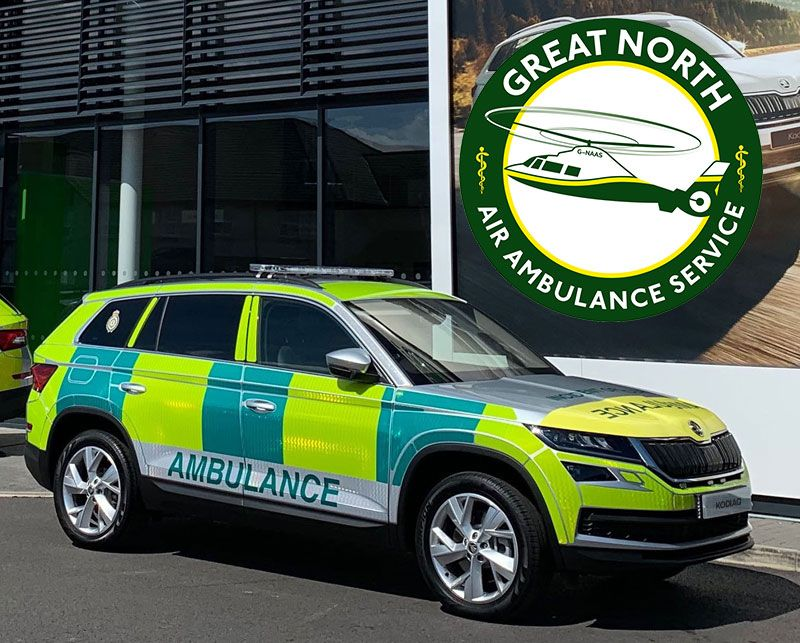 North East Ambulance Service adds the ŠKODA Kodiaq to its fleet