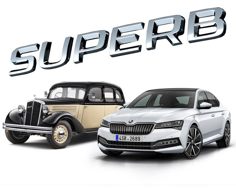85 years of the flagship ŠKODA Superb