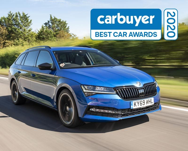 Five star performance for ŠKODA at 2020 Carbuyer awards