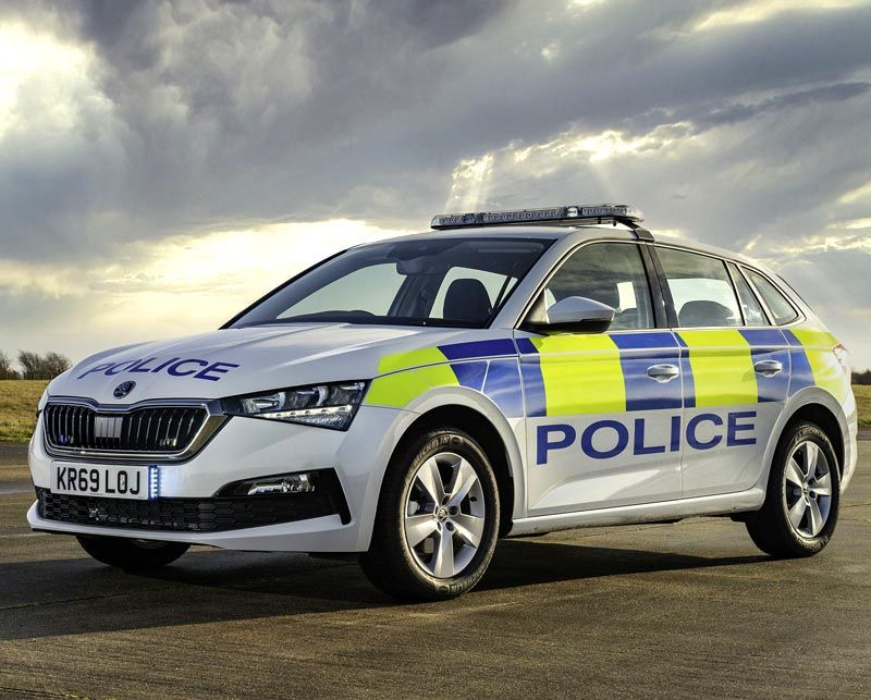 ŠKODA's emergency services sales soar in 2019
