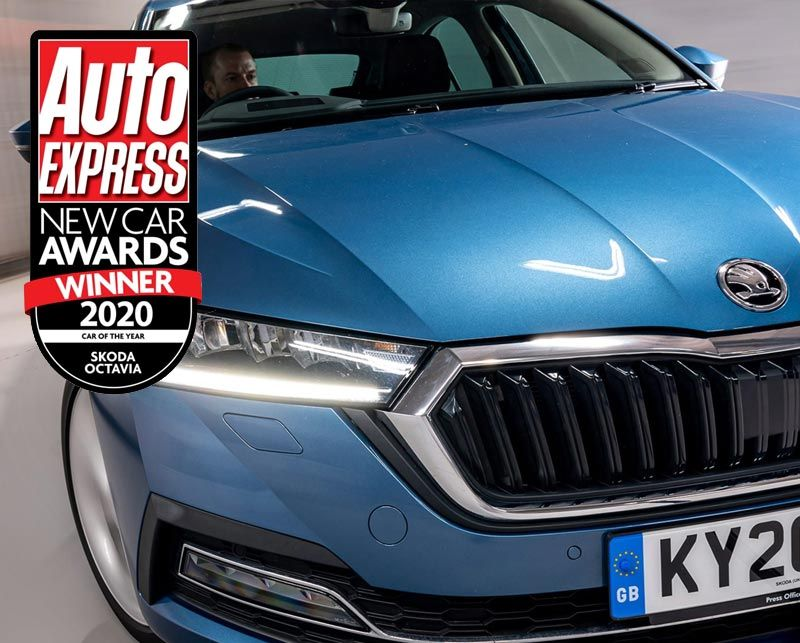 All-New Octavia crowned Auto Express New Car of the Year 2020