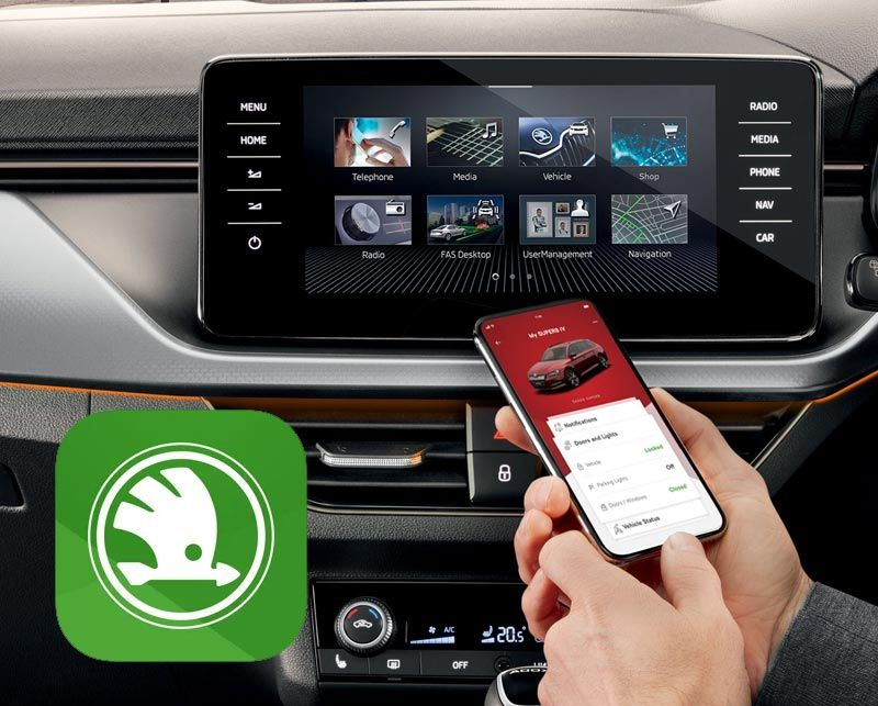 All-in-one: The new MyŠKODA App is launched