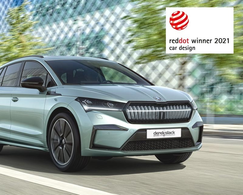 ŠKODA ENYAQ iV awarded Red Dot for outstanding product design