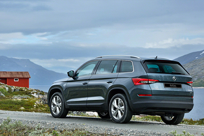 Skoda Kodiaq - Customisable Driving Experience