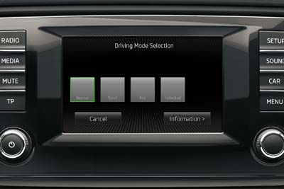Skoda Octavia - Driving Mode Selection