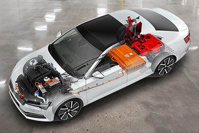 Skoda Superb Iv Plug In Hybrid - Powered By More