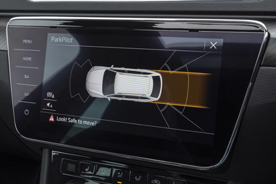 Skoda Superb - Park Assist