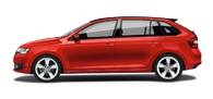 Skoda Rapid Spaceback at Derek Slack Motors